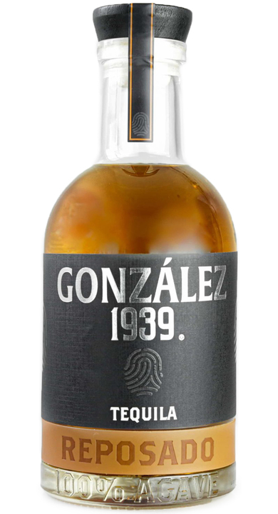 Bottle of González 1939 Tequila Reposado
