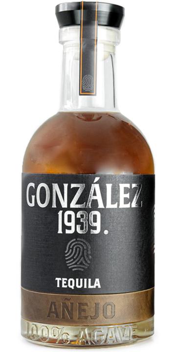 Bottle of González 1939 Tequila Añejo