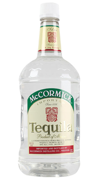 Bottle of McCormick Tequila Silver