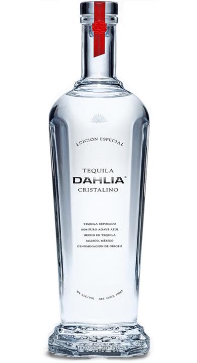 Bottle of Tequila Dahlia Cristalino