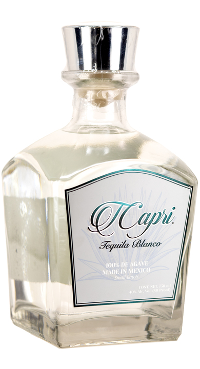 Bottle of TCapri Tequila Blanco
