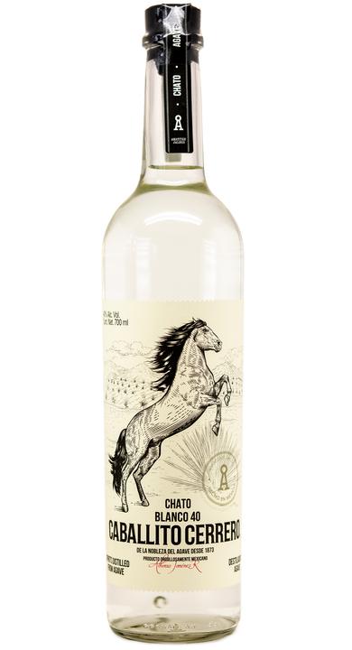 Bottle of Caballito Cerrero Chato Blanco 40