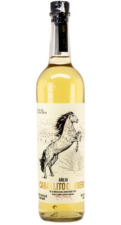 Bottle of Caballito Cerrero Chato Añejo