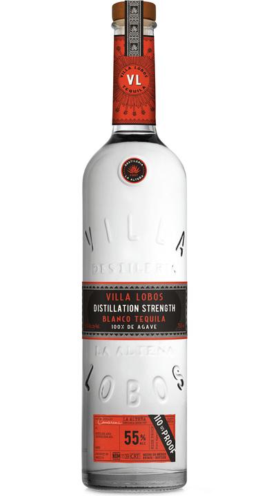 Bottle of Villa Lobos Distillation Strength Blanco