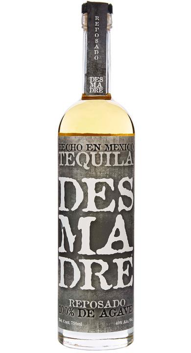 Bottle of DesMaDre Reposado Tequila