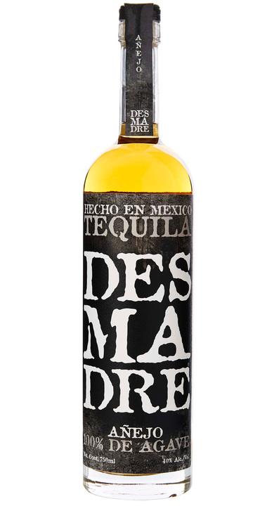 Bottle of DesMaDre Añejo Tequila