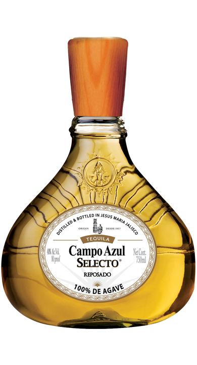 Bottle of Campo Azul Selecto Reposado