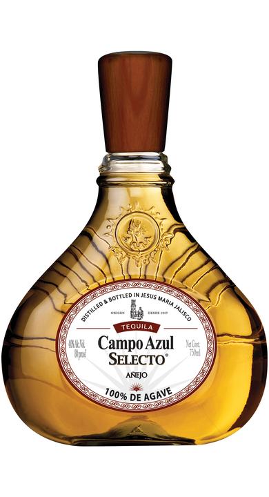 Bottle of Campo Azul Selecto Añejo
