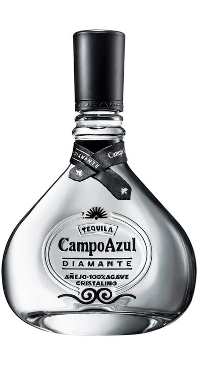 Bottle of Campo Azul Diamante Cristalino Añejo