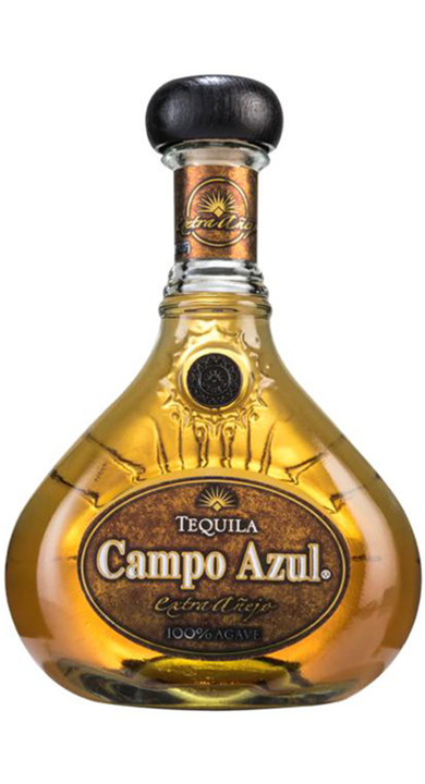 Bottle of Campo Azul Gran Reserva Extra Añejo
