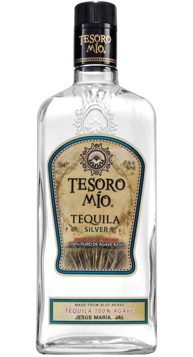 Bottle of Tesoro Mio Tequila Silver