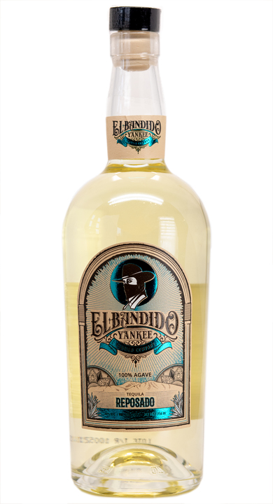 Bottle of El Bandido Yankee Reposado