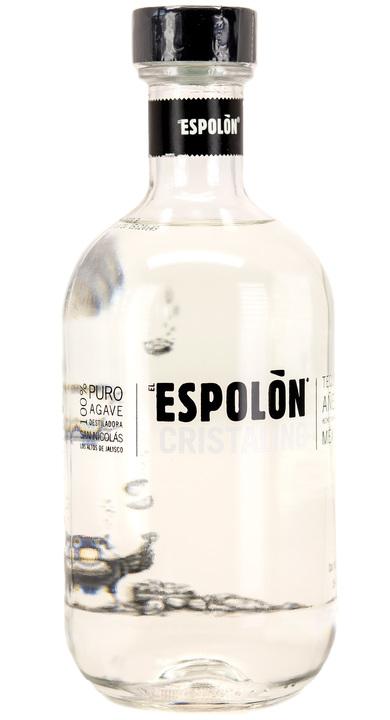 Bottle of Espolon Añejo Cristalino