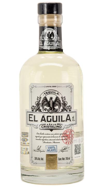 Bottle of El Aguila Cía Añejo Cristalino