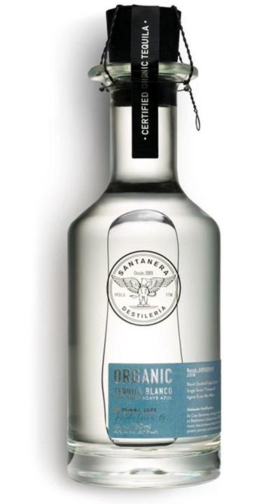 Bottle of Santanera Abolengo Organic Blanco