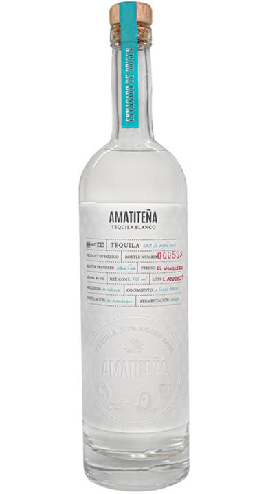 Bottle of Amatiteña Tequila Blanco