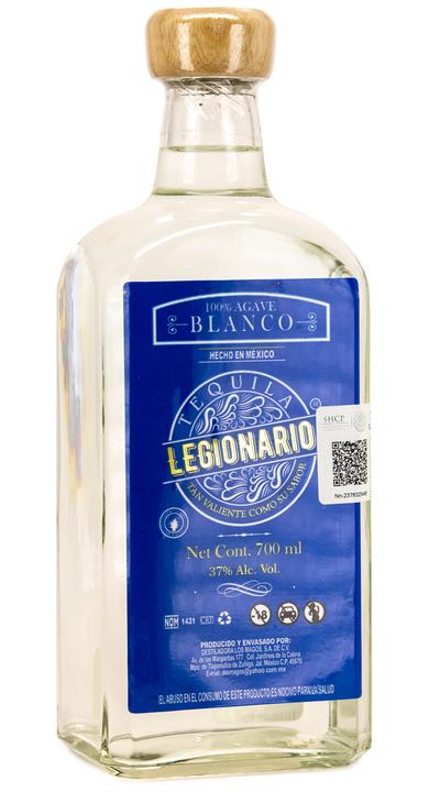 Bottle of Tequila Legionario Blanco