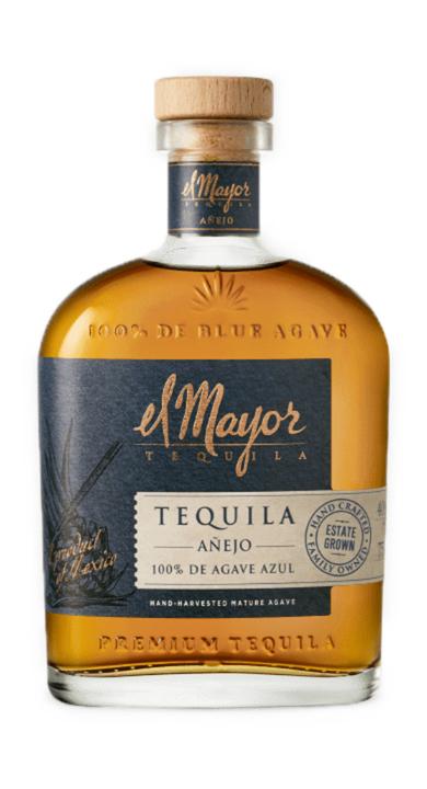 Bottle of El Mayor Añejo