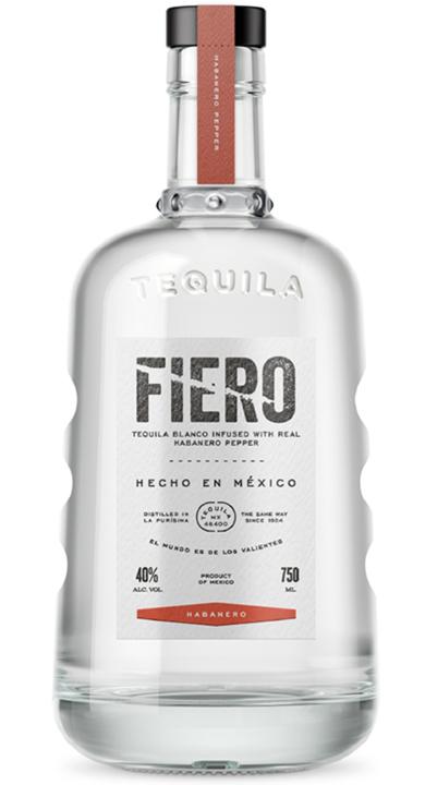 Bottle of Fiero Tequila Blanco