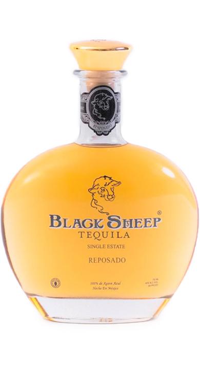 Bottle of Black Sheep Tequila Reposado