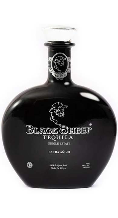 Bottle of Black Sheep Tequila Extra Añejo