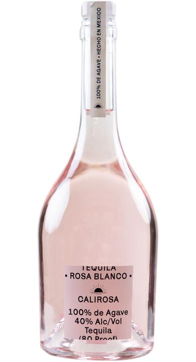 Bottle of Calirosa Rosa Blanco Tequila