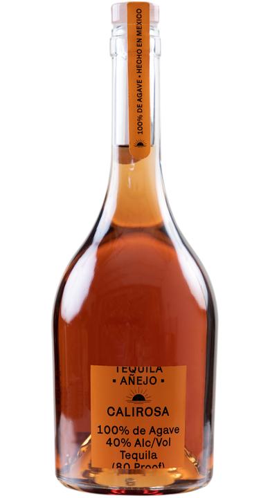 Bottle of Calirosa Añejo Tequila