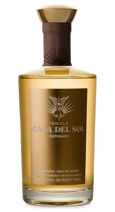 Bottle of Tequila Casa Del Sol Reposado