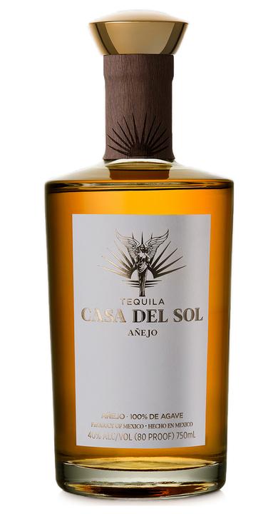 Bottle of Tequila Casa Del Sol Añejo