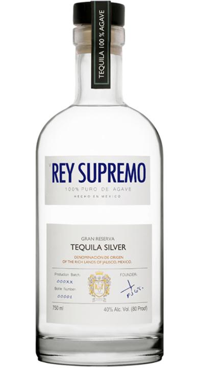 Bottle of V Rey Supremo Silver
