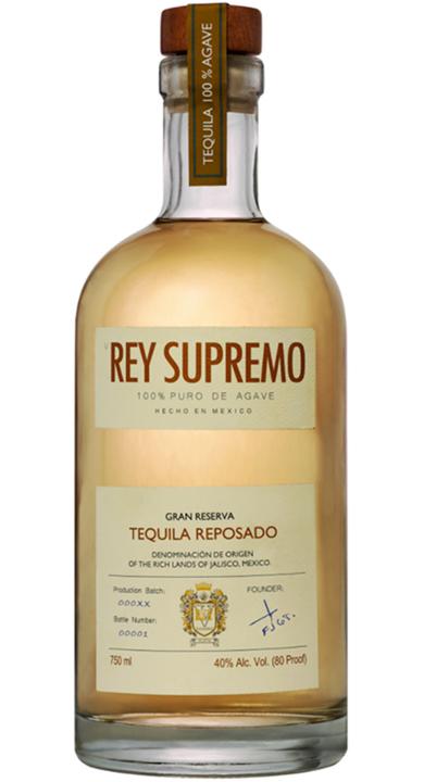 Bottle of V Rey Supremo Reposado
