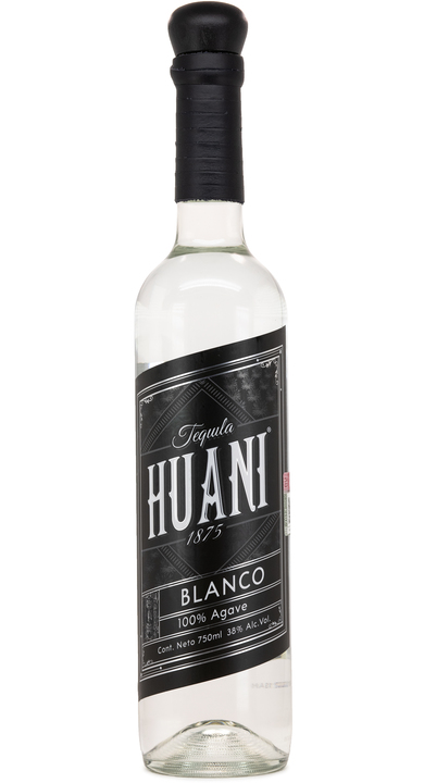 Bottle of Tequila Huani 1875 Blanco