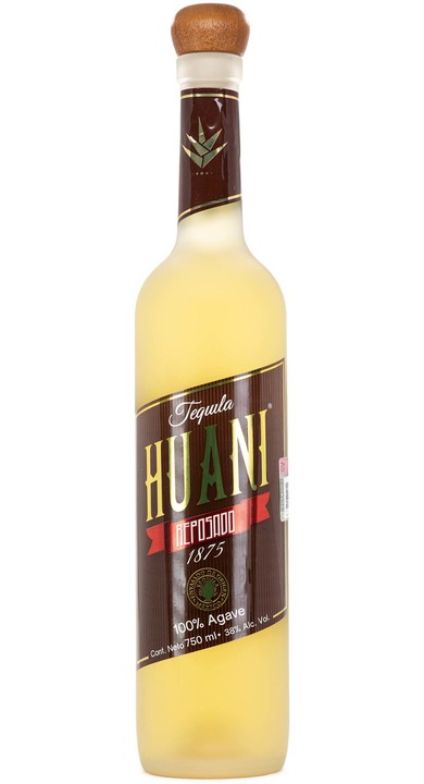 Bottle of Tequila Huani 1875 Reposado