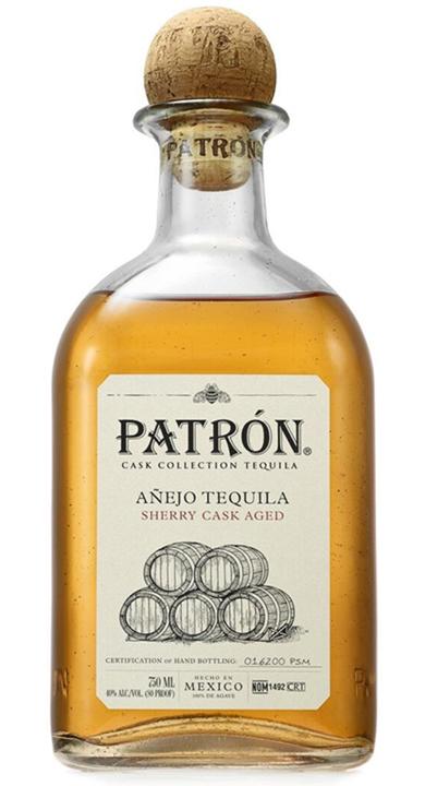 Bottle of Patrón Cask Collection Sherry Añejo (2021)
