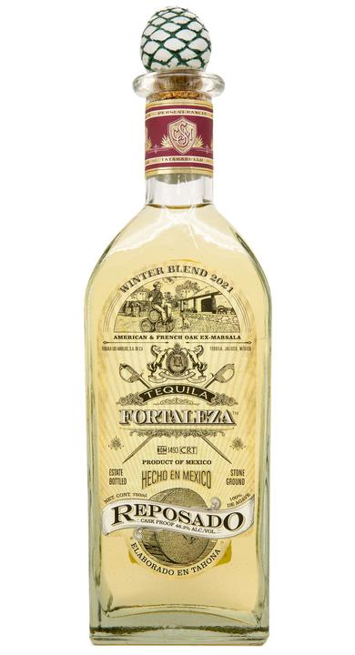 Bottle of Fortaleza Reposado - Winter Blend 2021